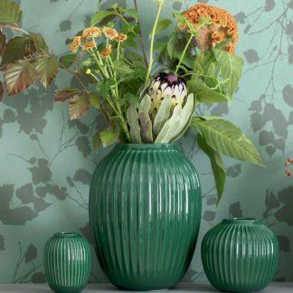 Vase HAMMERSHOI Kähler green H 25 cm