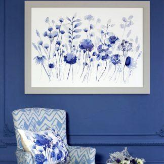 Wandbild Bluebellgray CORRAN