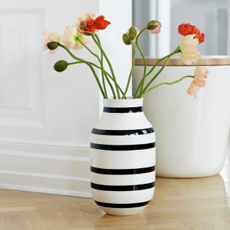 Bodenvase OMAGGIO Kähler schwarz H 50 cm