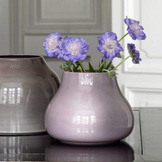 Ceramic Vase BOTANICA Kähler Yellow ocher H 50 cm