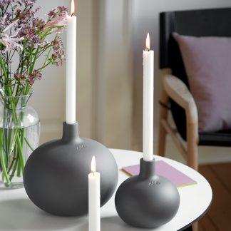 Kerzenleuchter GLOBO Kähler granite grey ø 23 cm