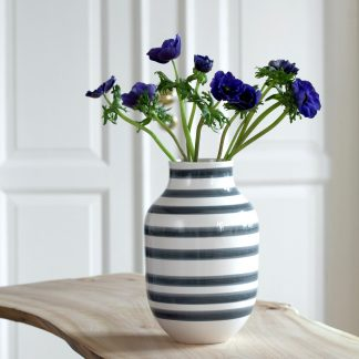 Vase OMAGGIO Kähler granitgrau H 30,5 cm