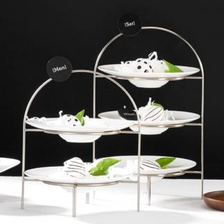 ETAGERE 2-/ 3-stufig für Dessertteller ASA 36,5 | 28 cm