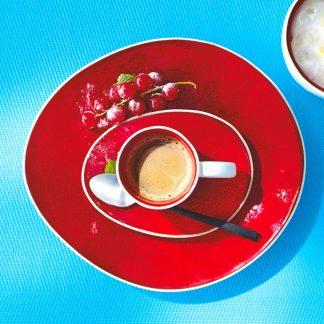 UNTERTASSE für Kaffeetasse | Espressotasse á la maison ASA magma
