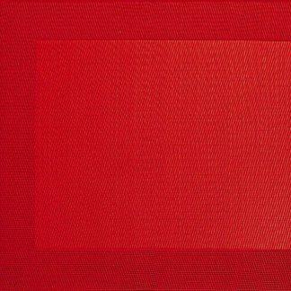 TISCHSET  ASA rot 33 x 46 cm