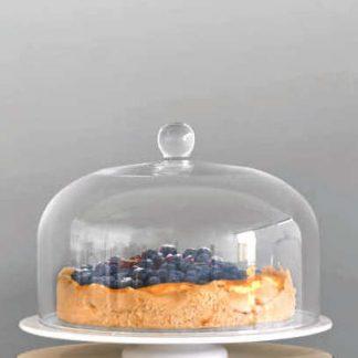 Tortenplatte & Glasglocke ASA 35,5 | 32 cm