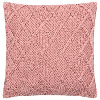 Dekokissen DARCY Magma rosé 45x45