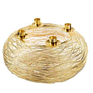 Adventskranz gold ø 30 cm