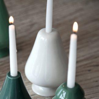 Kerzenleuchter AVVENTO Kähler weiß H 13 cm