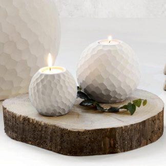 Teelichthalter CARVE ASA ø 8 | 10,5 cm