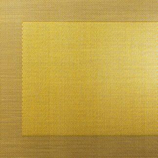 TISCHSET metallic ASA gold 33 x 46 cm