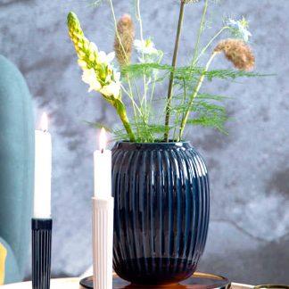 Vase HAMMERSHOI Kähler indigo H 20 cm