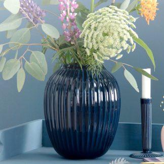 Vase HAMMERSHOI Kähler indigo H 25 cm