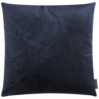 Kissen SAMT UNI dunkelblau Magma 50x50 cm
