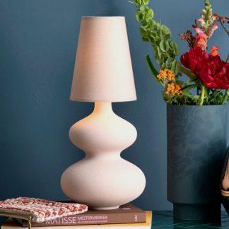 Lampe BALUSTRE Kähler H 43, 5 cm staubrosa