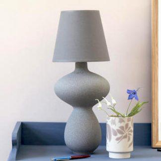Lampe BALUSTRE Kähler H 44,5 cm anthrazit