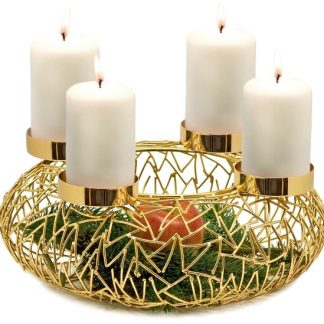 Adventskranz Milano Edzard 34 Gold 1 324x324