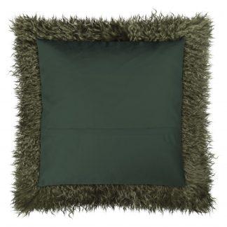 Dekokissen Magma PAMINA grün 40x40