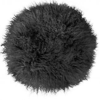 Stuhlkissen Magma PAMINA  35/45 rund anthrazit