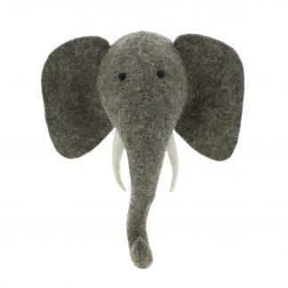Tierkopf ELEPHANT Fiona Walker England