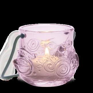 Teelichthalter VOGEL Björn Wiinblad H 7,0 cm rosé
