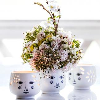 Teelichthalter FLOWERHEAD Björn Wiinblad ø 6,0 cm 2erSet
