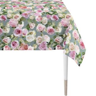 Apelt Tischdecke 150x250 cm   Tischläufer 48x140 cm 1624 SUMMER GARDEN Rose rosa