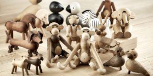 Holzfiguren Kay Bojesen