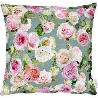 Kissenbezug Apelt 1624 SUMMER GARDEN 49x49 Rose rosa