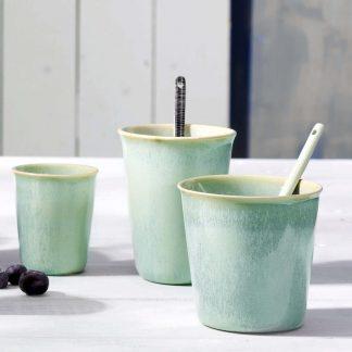 BECHER coppetta ASA grün espresso 0,1 l | cappuccino 0,25 l | café lungo 0,25 l