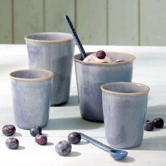 BECHER coppetta ASA bleu espresso 0,1 l | cappuccino 0,25 l | café lungo 0,25 l |