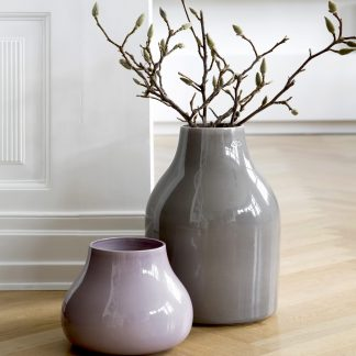 Ceramic Vase BOTANICA Kähler grey H 40 cm