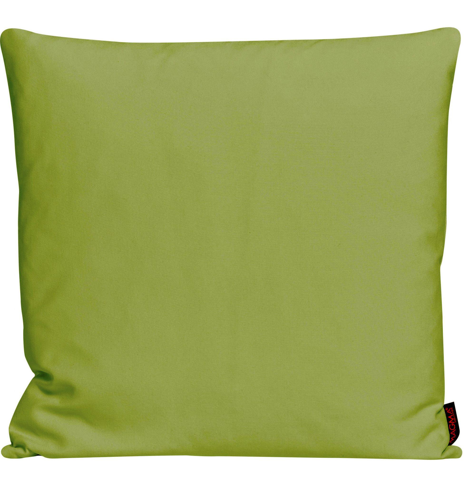 Dekokissen Magma PASO grün 50x50