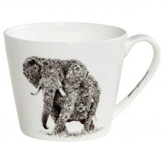 Becher AFRICAN ELEPHANT Marini Ferlazzo Maxwell & Williams 0,45 l