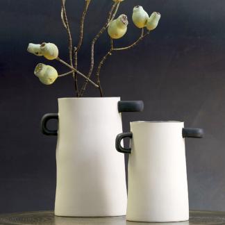 Vase RAYU natur ASA H 21,5 |17,0 cm