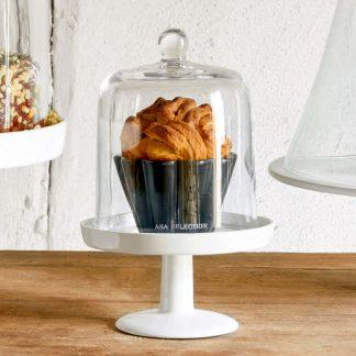 Tortenplatte ø 12,5 cm | Glasglocke ø 10,8 cm ASA