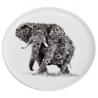 Teller AFRICAN ELEPHANT Marini Ferlazzo Maxwell & Williams ø 20 cm