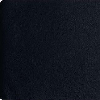TISCHSET ASA Lederoptik rough black 33 x 46 cm