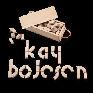 ALPHABET BLOCK Kay Bojesen