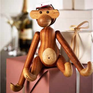 MÜTZE für kleinen Affen rot