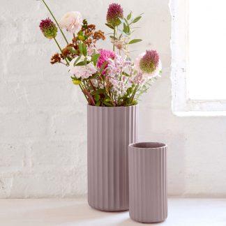 Vase ASA YOKO mauve H 24|16 cm