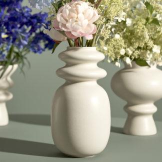 Vase KONTUR Kähler weiß H 29 cm