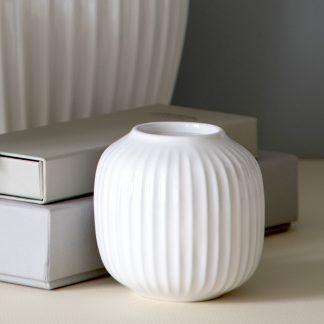 Teelichthalter HAMMERSHOI Kähler weiss ø 9,0 cm