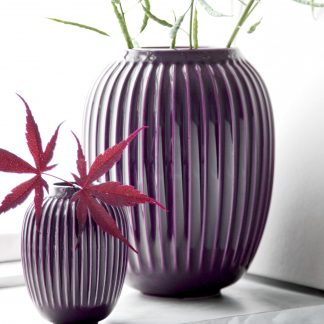 Vase HAMMERSHOI Kähler plum H 25 cm