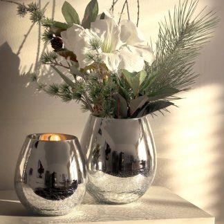 Windlicht / Vase ESTHER Edzard H 21   17 cm