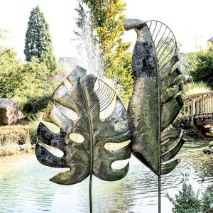 Gartenstecker BIG LEAF Casablanca H 220 | 190 cm