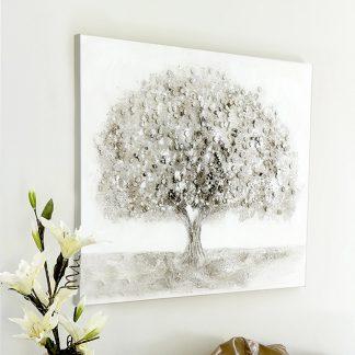 "Leinwandbild auf Keilrahmen ""BIG TREE"" Casablanca 70x90 cm"
