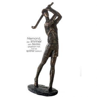 Skulptur GOLFER Casablanca H 36 cm