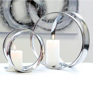 Kerzenleuchter RINGS STRADO Casablanca H 33 cm