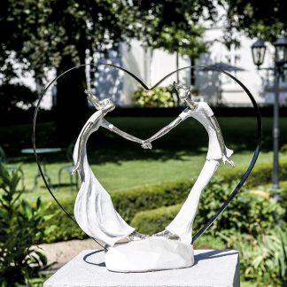 Design Skulptur LEIDENSCHAFT Casablanca H 32 cm